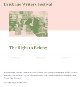 Brisbane Writers Festival: The Right to Belong